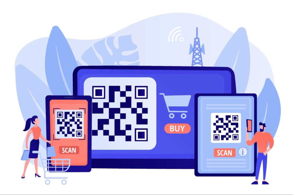 QR codes for business — Touchless payments