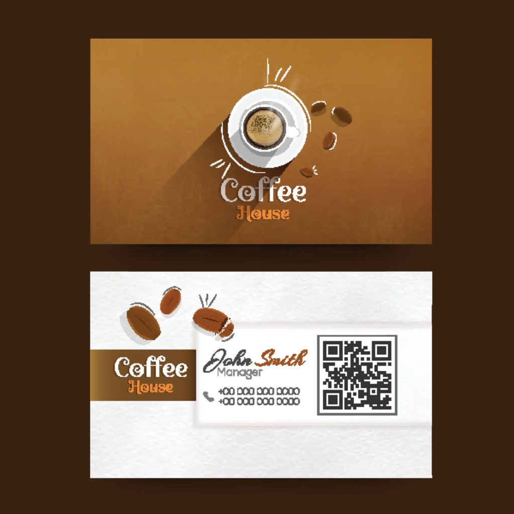QR codes for business — Using visiting cards
