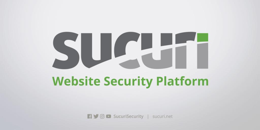 Unique WordPress plugin — Sucuri